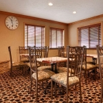 Best Western Plus Lincoln Sands Oceanfront Suites Breakfast Seating