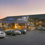 Best Western Plus Lincoln Sands Oceanfront Suites Sunset Exterior